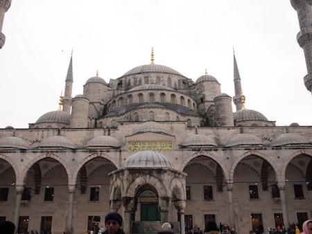 威風堂々のブルーモスク