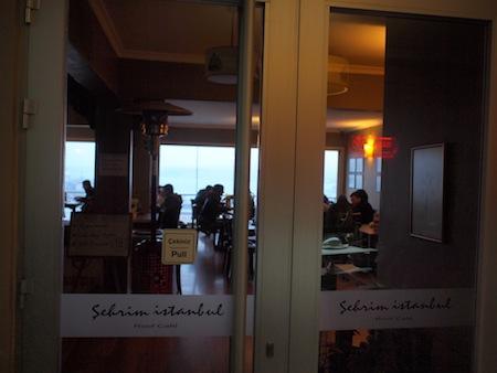 スュレイマニエ・ジャーミィ近くのカフェ