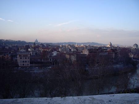 Parco Savelloからの眺め