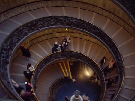 2重の螺旋階段