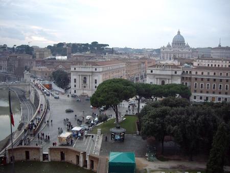 サンタンジェロ城からの眺め