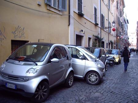 ローマではsmartが大流行!