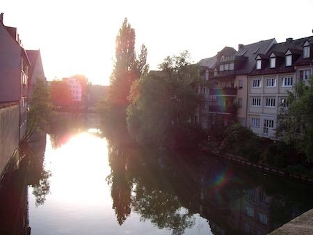 ニュルンベルクの街並