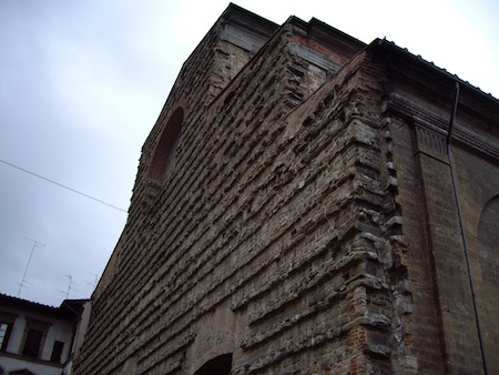 サン・ロレンツォの未完のファサード