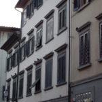 フィレンツェのだまし絵窓