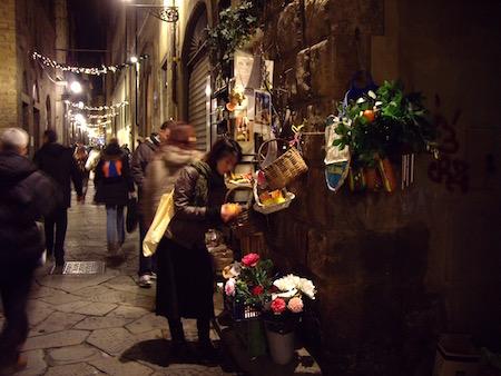 Borgo Ss Apostoliの果物屋