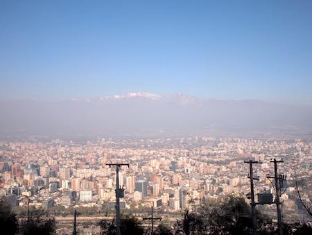 サン・クリストバルの丘からの眺め