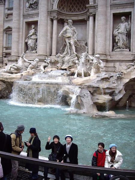 またローマに戻って来れますように!