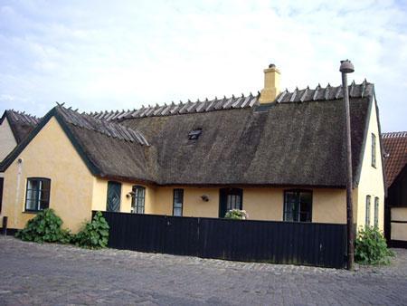 デンマークの伝統的な家