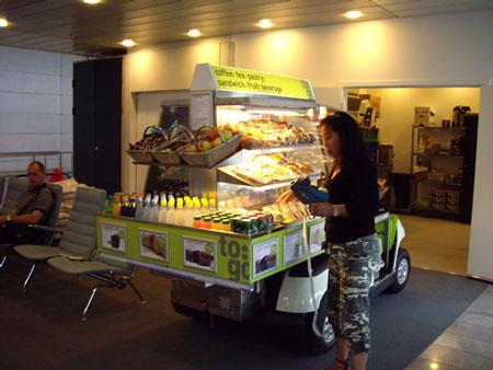 カストルップ空港のかわいいパン屋