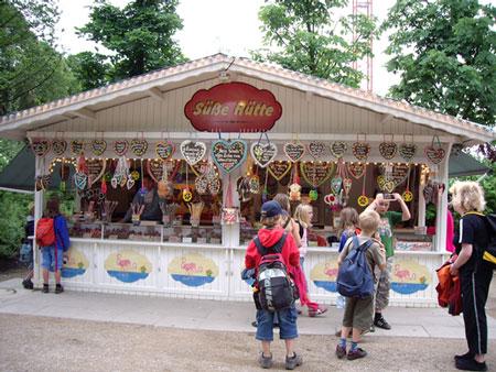 ハーゲンベック動物園のかわいい売店