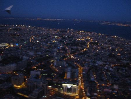 夜のリスボン