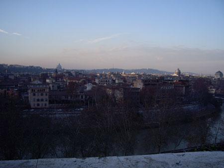 アヴェンティーノの丘から