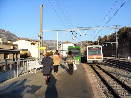 Monistrol de Montserrat駅