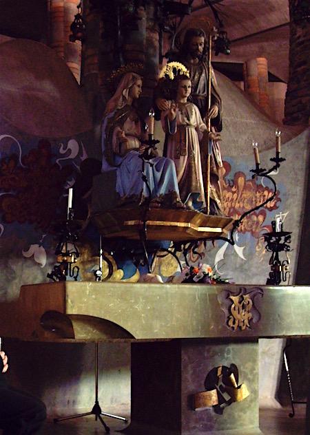 ジュジョール作聖家族の祭壇