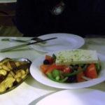 アテネ初日の夕食は・・