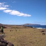 イースター島サイクリング