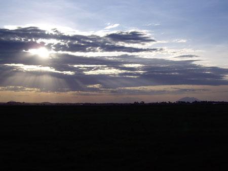 アンボセリの大地