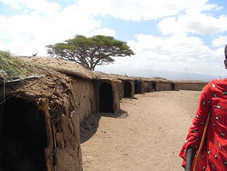 マサイの集合住宅