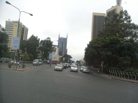 ナイロビの街