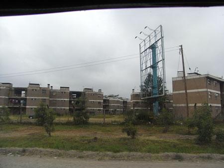 ナイロビの集合住宅