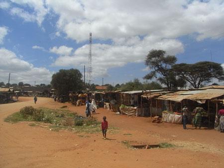 ナマンガの街