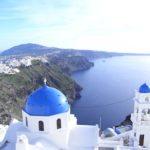 ギリシャ旅行の写真サントリーニ島編その1