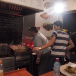 エルサレム旧市街ユダヤ人地区で晩御飯