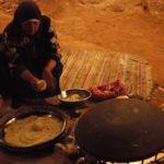 The Rock Petra Campのディナー