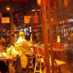 モンパルナスのカフェで朝食