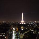 夜のパリ散歩