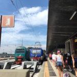 電車でヴェネツィアからヴェローナへ