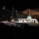 ヴェローナで野外オペラ