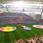 日本vsセネガル@エカテリンブルクアレーナ