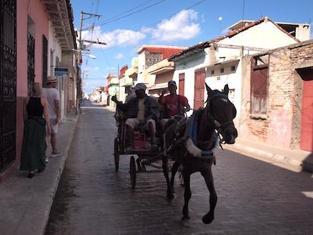 サンタクララの馬車