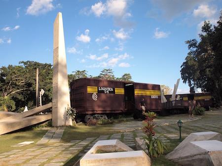 襲撃された装甲列車