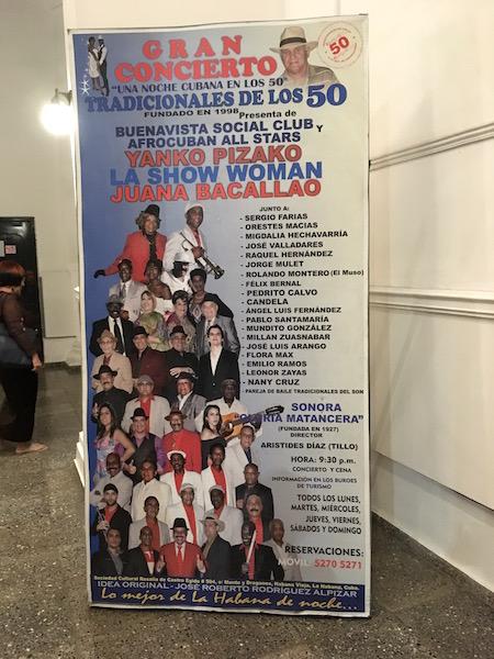 BUENAVISTA SOCIAL CLUBショー