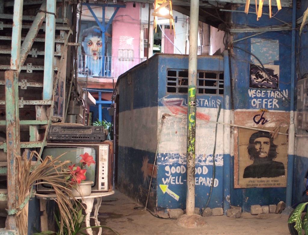 ハバナで初めて見たチェ・ゲバラ