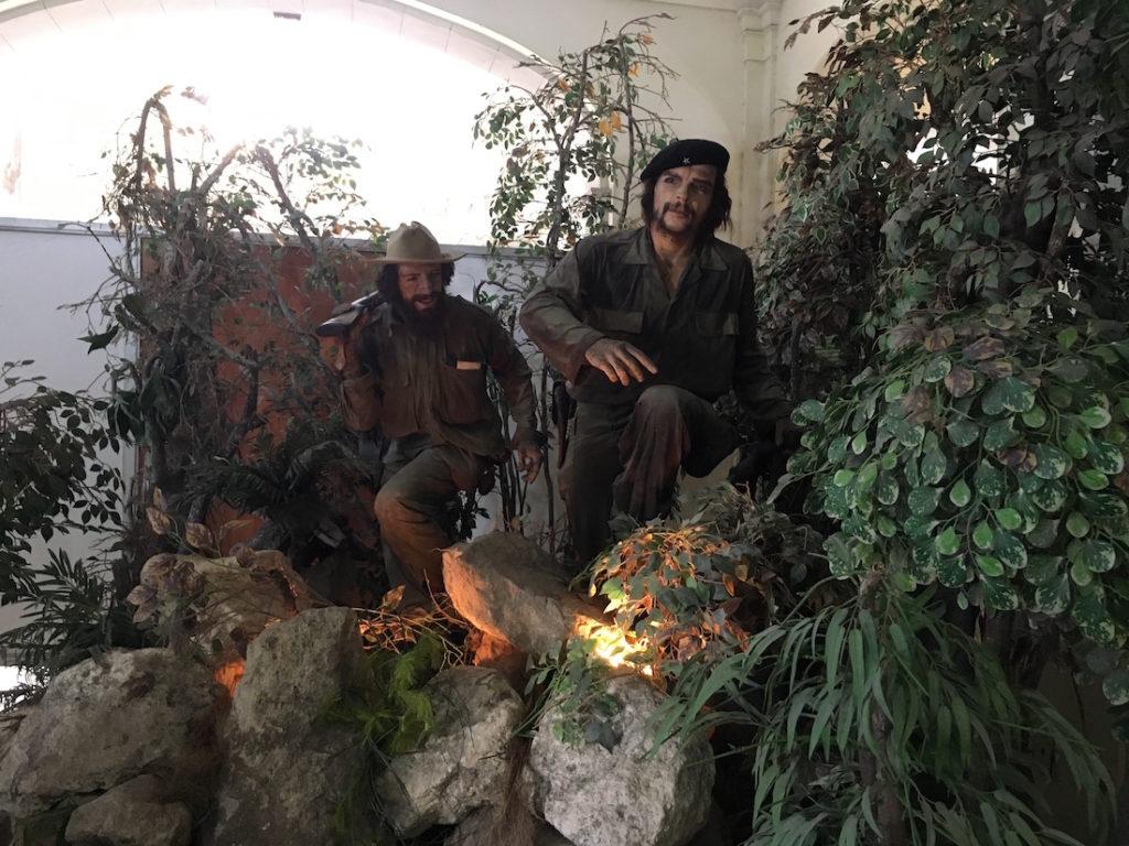 革命博物館のチェ・ゲバラ