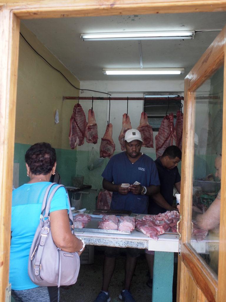 セントロハバナの肉屋
