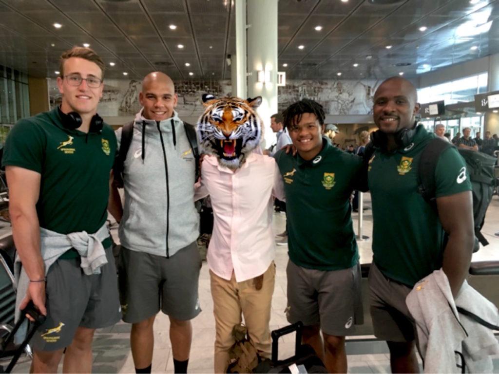 南アフリカのセブンス代表!