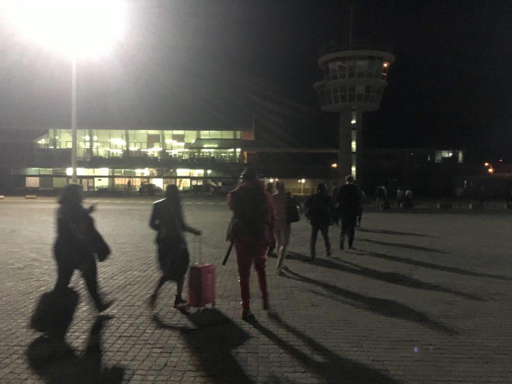 首都の空港の割には小さい・・