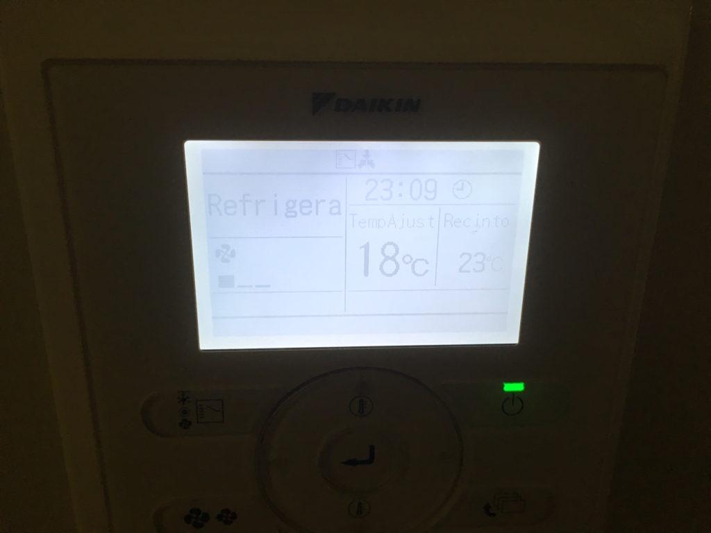 18℃固定
