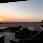 ナミブ砂漠でのんびりと