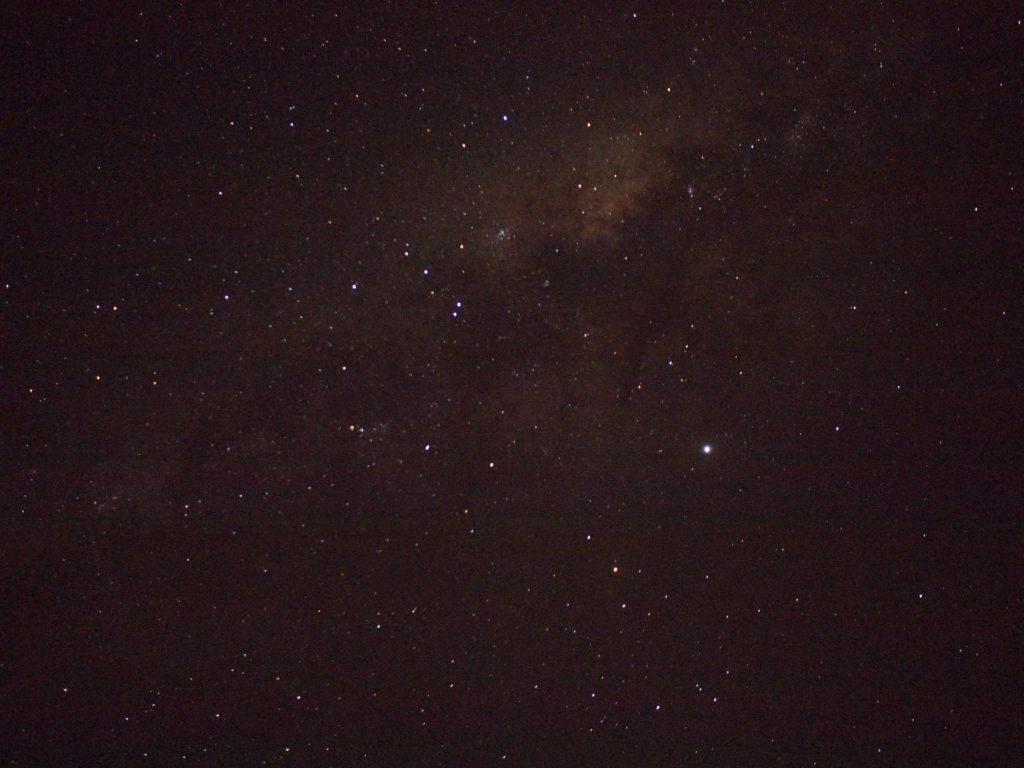 満天の星空です