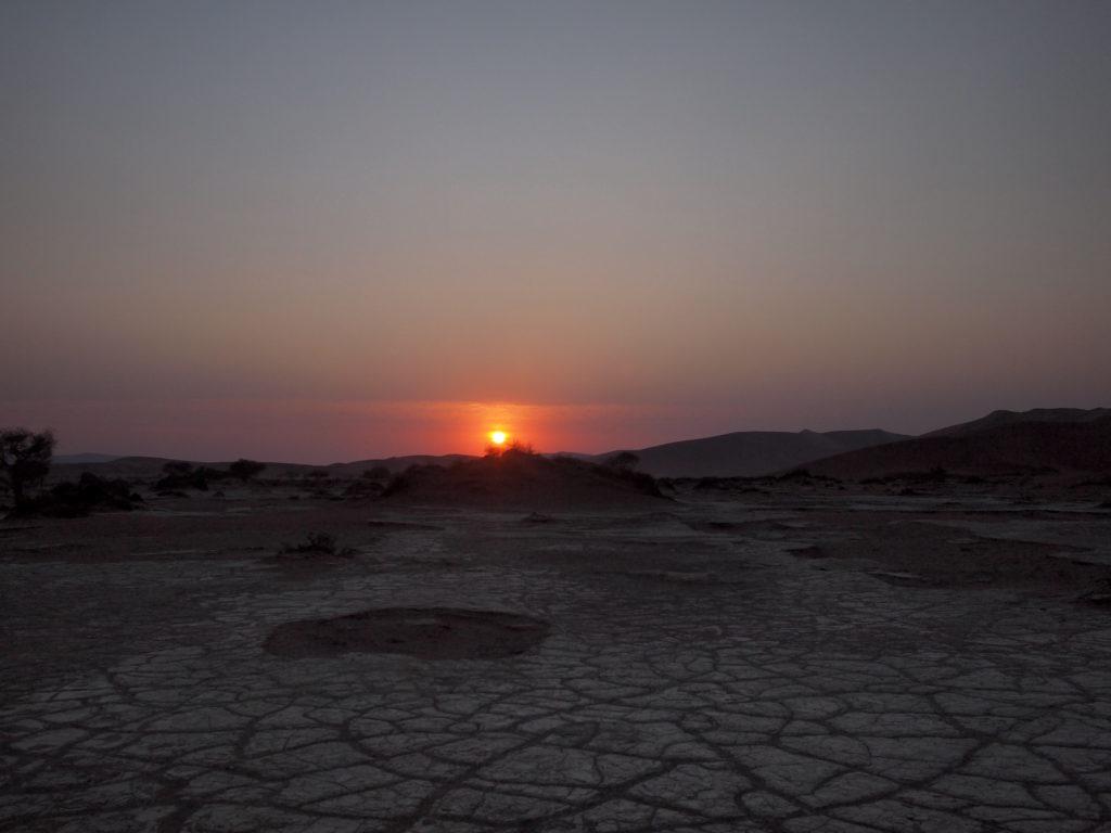 ソッサスフレイの朝陽